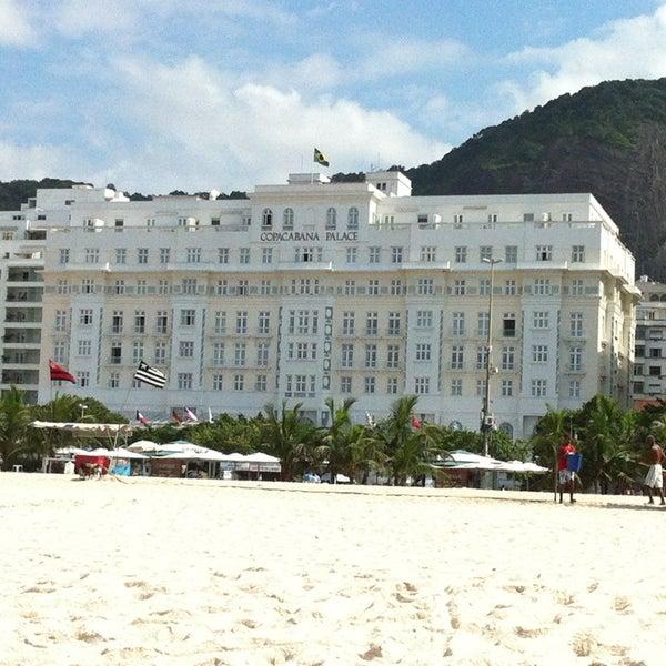 4/7/2013에 Thiago A.님이 Belmond Copacabana Palace에서 찍은 사진