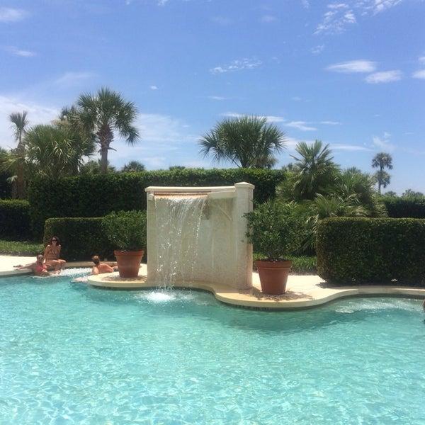 7/13/2014 tarihinde Allison T.ziyaretçi tarafından The Spa at Ponte Vedra Inn & Club'de çekilen fotoğraf