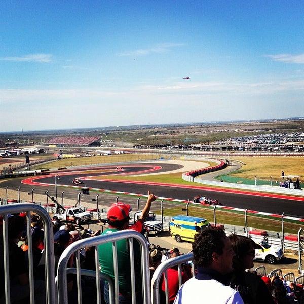 11/18/2012 tarihinde Laurence N.ziyaretçi tarafından Circuit of The Americas'de çekilen fotoğraf
