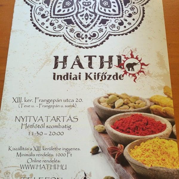 7/23/2016にCsavlek A.がHathi Indiai Kifőzdeで撮った写真