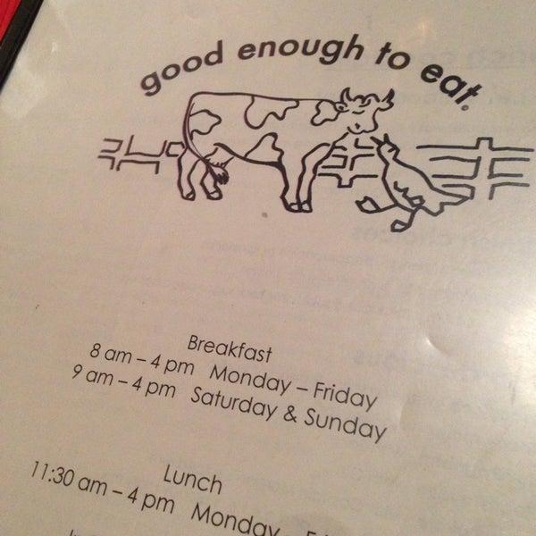 6/2/2013 tarihinde Greg Y.ziyaretçi tarafından Good Enough to Eat'de çekilen fotoğraf