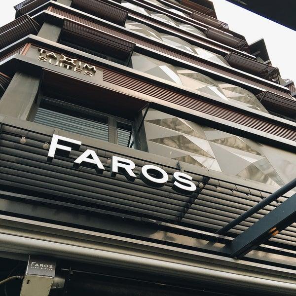 7/30/2016 tarihinde Abdi A.ziyaretçi tarafından Faros Restaurant'de çekilen fotoğraf