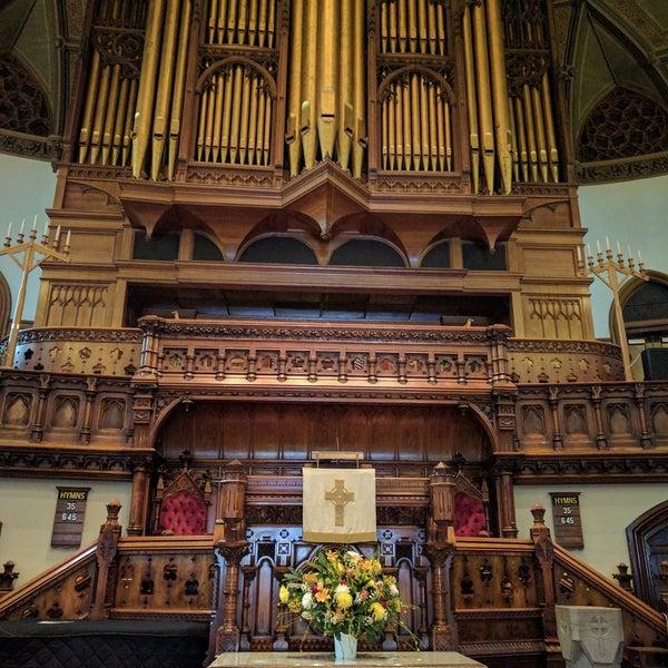 Foto diambil di Fifth Avenue Presbyterian Church oleh Francis D. pada 5/9/2017