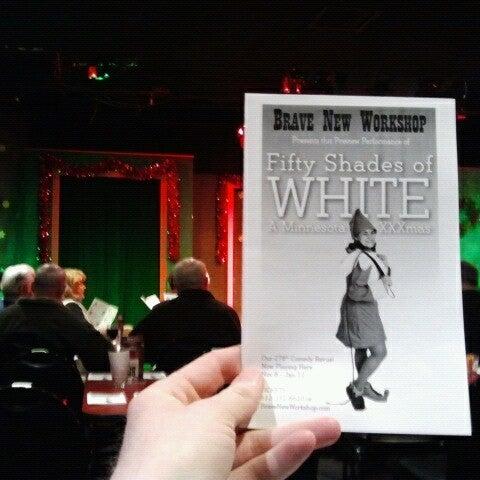 11/15/2012에 Brent님이 Brave New Workshop Comedy Theatre에서 찍은 사진