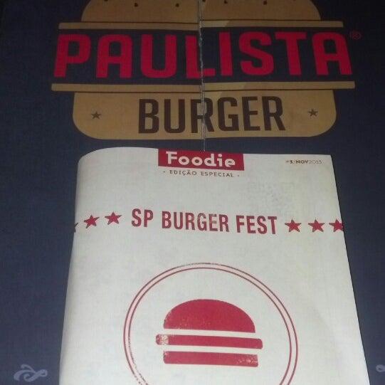 Photo prise au Paulista Burger par Hugos N. le11/13/2013