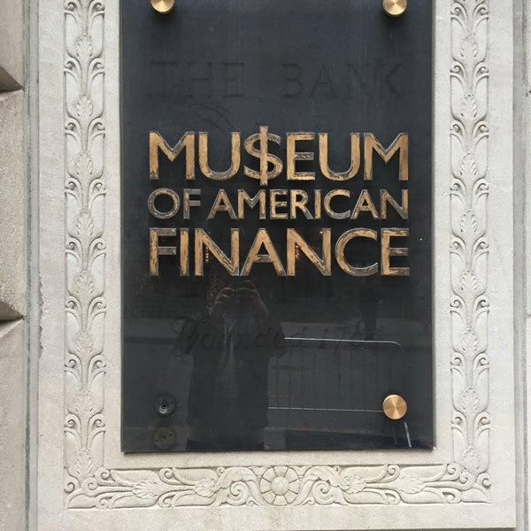 Foto tirada no(a) Museum of American Finance por Fabian V. em 12/26/2015