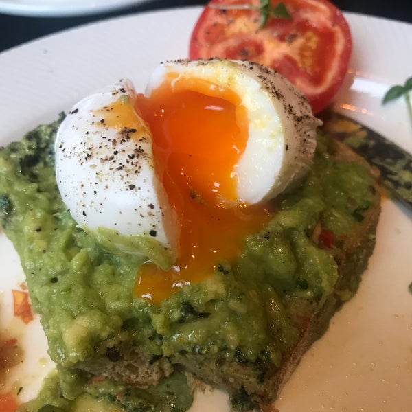 So delicious. Love the brunch—avocado toast is wonderful, so are the Irish cakes. We come here every time we are in London.
