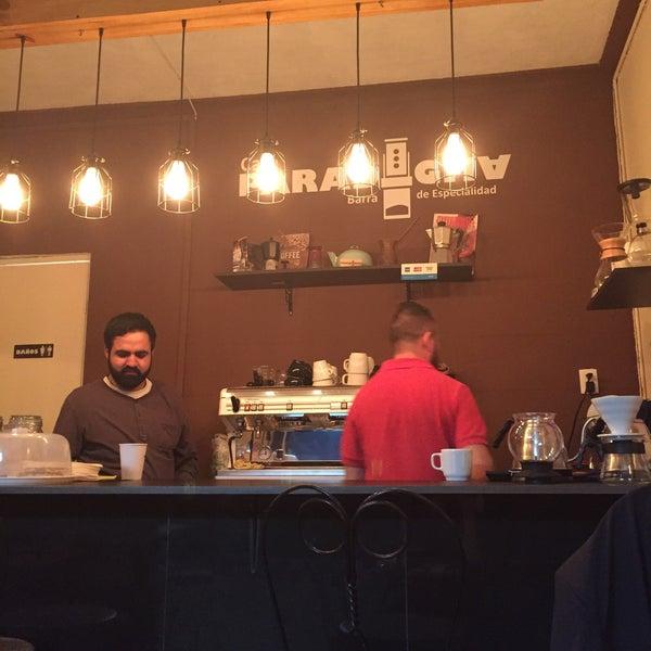 Excelente café y concepto; quiero probarlo todo