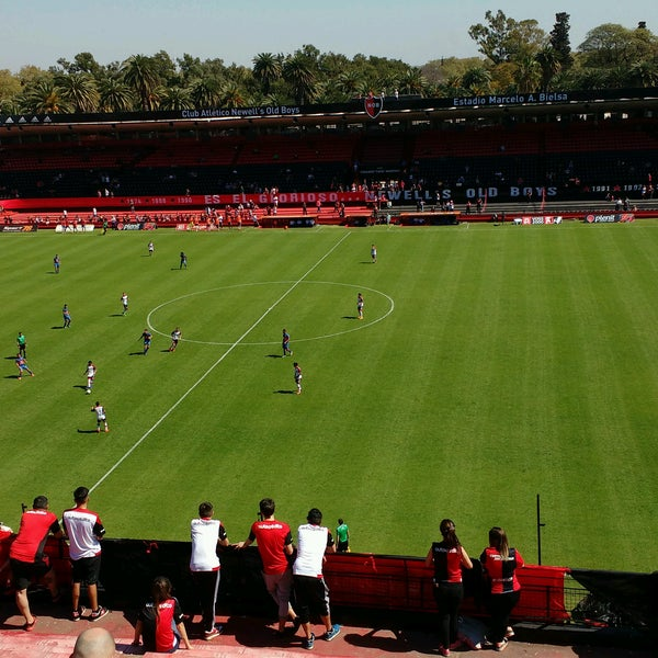 Foto scattata a Estadio Marcelo Bielsa (Club Atlético Newell's Old Boys) da German S. il 9/11/2016