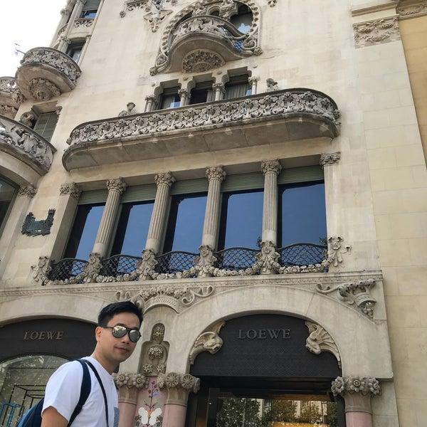 9/4/2018にChloe L.がCasa Lleó i Moreraで撮った写真