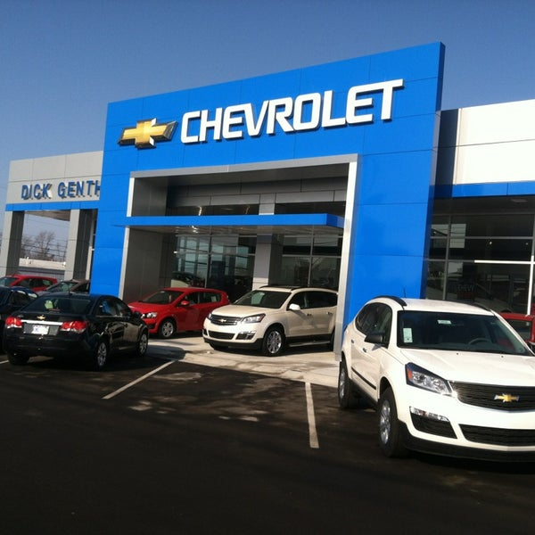 Dick Genthe Chevrolet Auto Dealership In Southgate