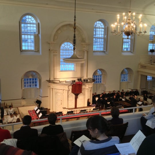11/18/2012 tarihinde Jackie G.ziyaretçi tarafından Old South Meeting House'de çekilen fotoğraf