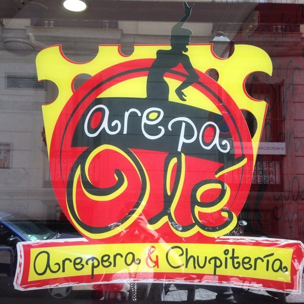 "Foto scattata a Arepa Olé ""Chueca"" da Miriam Elena S. il 5/15/2014"