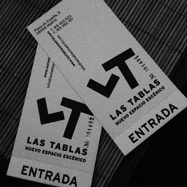 Снимок сделан в Las Tablas Tablao Flamenco пользователем Miriam Elena S. 3/1/2013