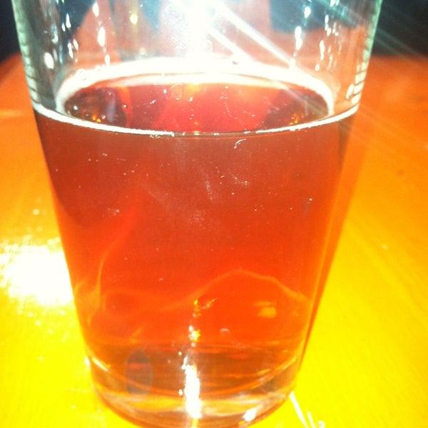 The Fullsteam beer is good. Like a red hook kind of taste.