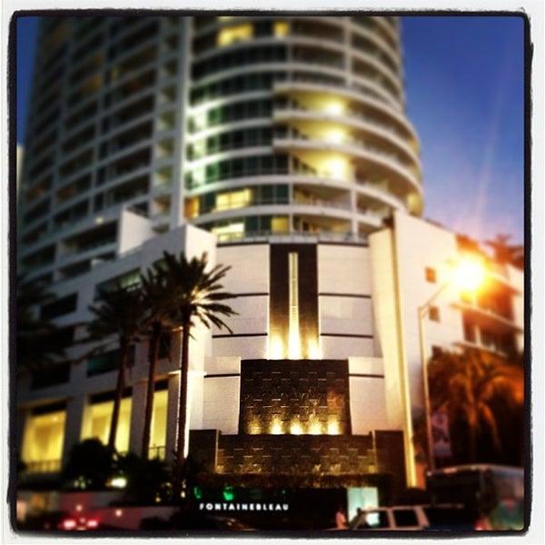 Photo prise au Fontainebleau Miami Beach par Vasha H. le1/5/2013