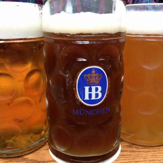 Foto diambil di Hofbräu Bierhaus NYC oleh Christian H. pada 10/26/2012