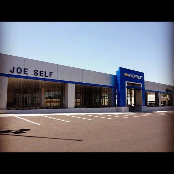 Photo Taken At Joe Self Chevrolet By On 9 18 2017