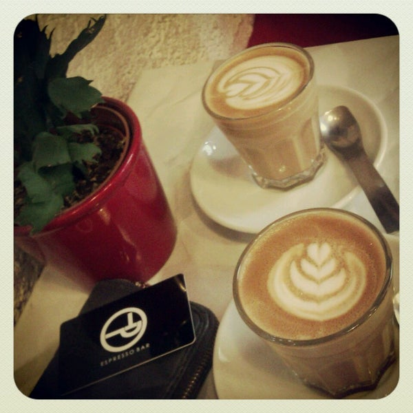 5/17/2013에 Lilla V.님이 Tamp & Pull Espresso Bar에서 찍은 사진