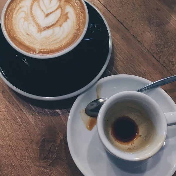 3/14/2017에 Lilla V.님이 Tamp & Pull Espresso Bar에서 찍은 사진