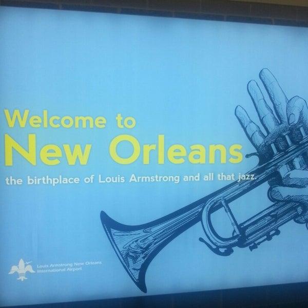 4/12/2013에 Mike R.님이 Louis Armstrong New Orleans International Airport (MSY)에서 찍은 사진