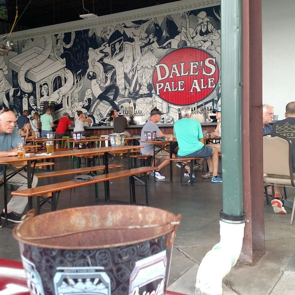 9/7/2018 tarihinde Jackie W.ziyaretçi tarafından Oskar Blues Brewery'de çekilen fotoğraf