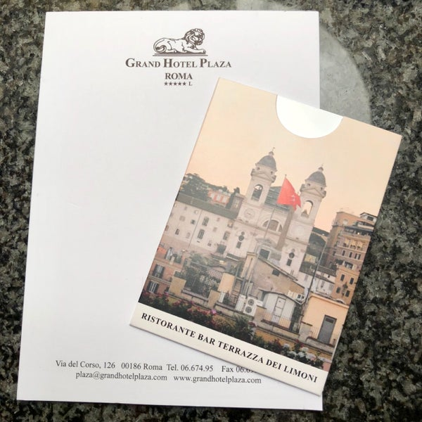 Photos At Grand Hotel Plaza Hotel In Campo Marzio