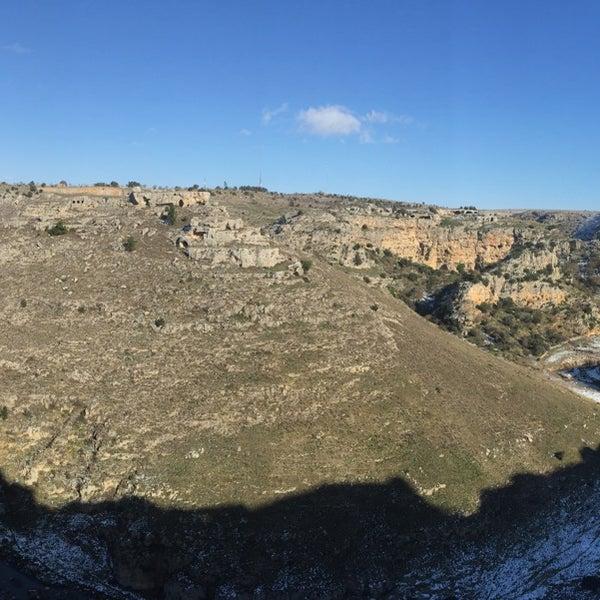 Снимок сделан в Sextantio | Le Grotte della Civita пользователем Zoli F. 1/1/2015