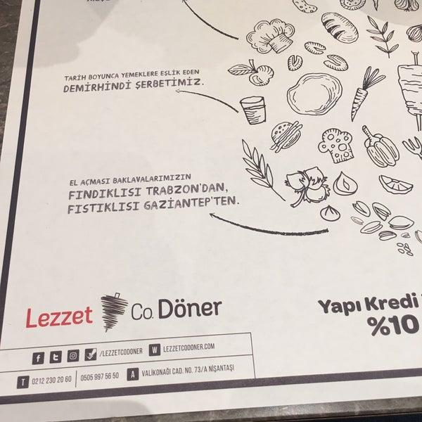 Снимок сделан в Lezzet Co. Döner пользователем Kerem K. 7/10/2017