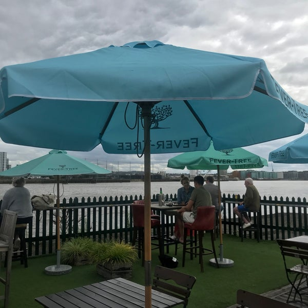 Gastropub overlooking the river with amazing roast