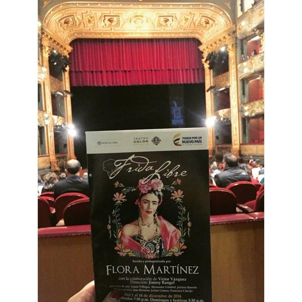 Das Foto wurde bei Teatro Colón von Carolina N. am 12/15/2016 aufgenommen