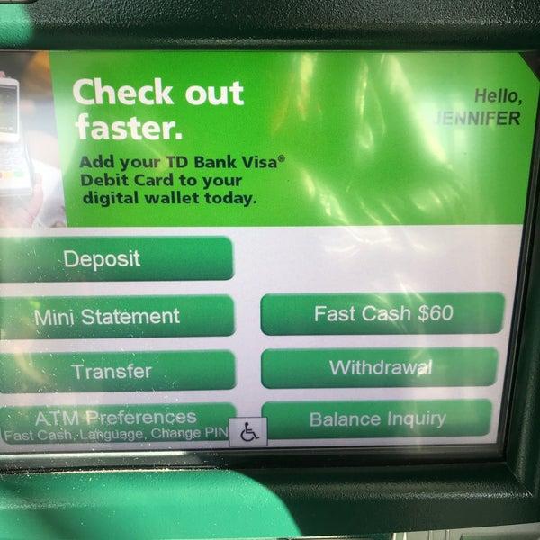 td bank wallet