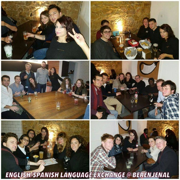 Friday languages exchange at BERENJENAL Bar, the 4 of March 2016 #berenjenal #language_exchange #meetup #friendship #thebestmojitos