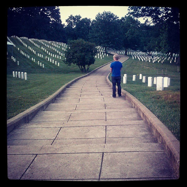 Photo prise au Arlington National Cemetery par Justine C. le6/4/2013