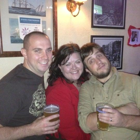 11/11/2012 tarihinde Niall C.ziyaretçi tarafından Four Farthings Tavern & Grill'de çekilen fotoğraf