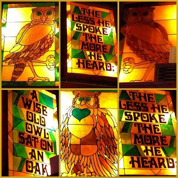 Снимок сделан в The Owl Bar пользователем Joey B. 1/20/2013