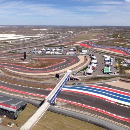 2/28/2013 tarihinde Emily H.ziyaretçi tarafından Circuit of The Americas'de çekilen fotoğraf