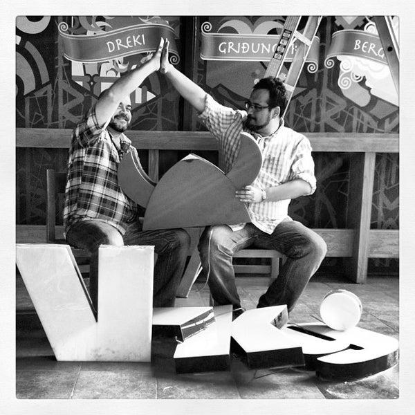 Das Foto wurde bei Viking - Arte Café Punto Zero von Viking A. am 5/30/2013 aufgenommen