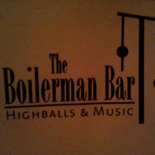 Снимок сделан в The Boilerman Bar пользователем Bastian M. 12/30/2012