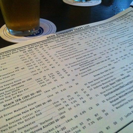 Foto diambil di Beer Authority NYC oleh David T. pada 7/21/2012