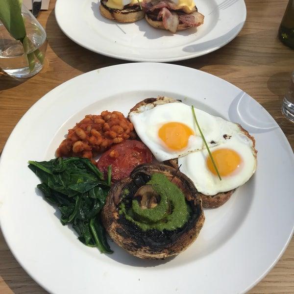 Try the veggie breakfast.