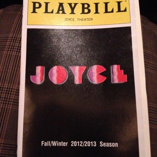 Photo prise au The Joyce Theater par Max T. le10/11/2012