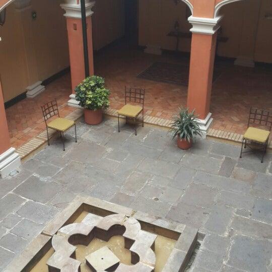 รูปภาพถ่ายที่ Hotel de la Opera โดย Laurita O. เมื่อ 11/5/2013
