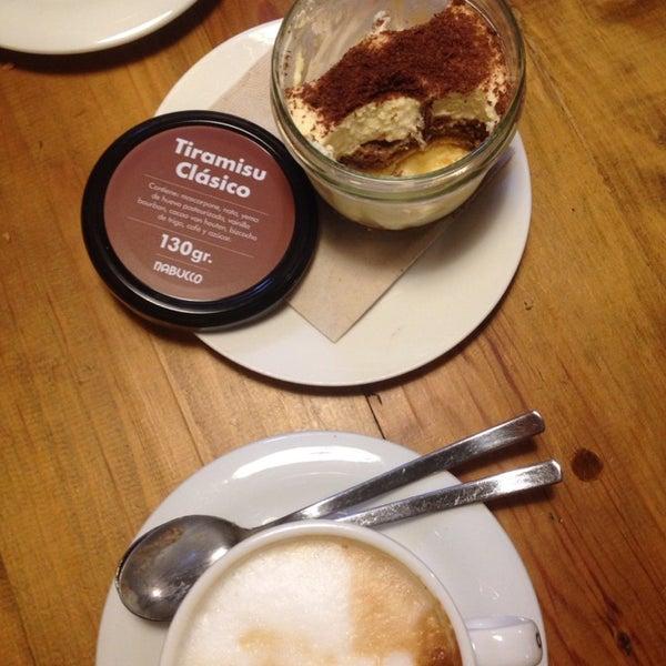 Tiramisu is great! Coffee and service too.