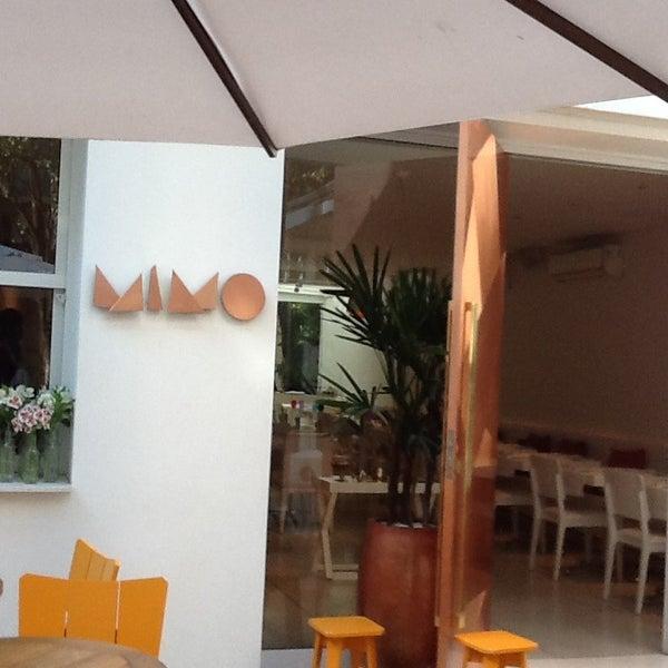 Foto tirada no(a) MIMO Restaurante por Silvana S. em 7/16/2013