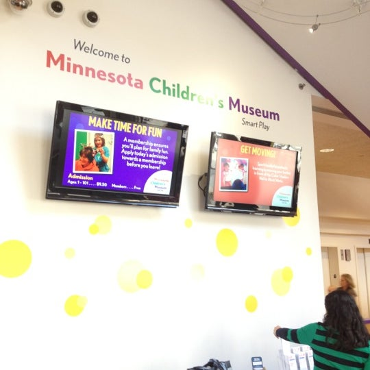 Снимок сделан в Minnesota Children's Museum пользователем Kris P. 10/20/2012