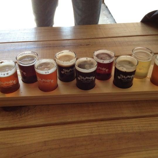 Das Foto wurde bei Strange Craft Beer Company von Kerry F. am 10/14/2012 aufgenommen
