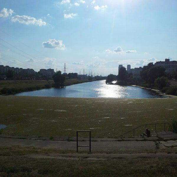 รูปภาพถ่ายที่ Троєщинський канал โดย Denis K. เมื่อ 7/13/2013