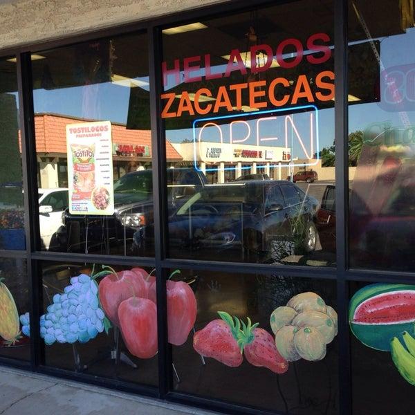 Helados Zacatecas Ice Cream Shop In Mesa