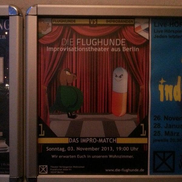 Photos At Verlangertes Wohnzimmer Indie Theater In Samariterkiez
